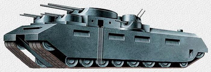 Т-35 !!! и это сумрачный тевтонский гений ?