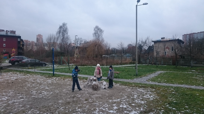 Снежный городок Зима, Новый Год, Праздники