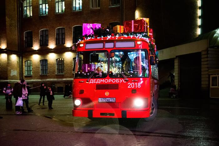 Дедморобус в городе! Новый Год, Санкт-Петербург, Ретро, Автобус, Дедморобус, ЛАЗ, Лиаз, RetroBus, Длиннопост