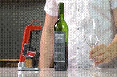 Диспенсер для вина. Coravin, Диспенсер, Вино, Рачительность, Гифка