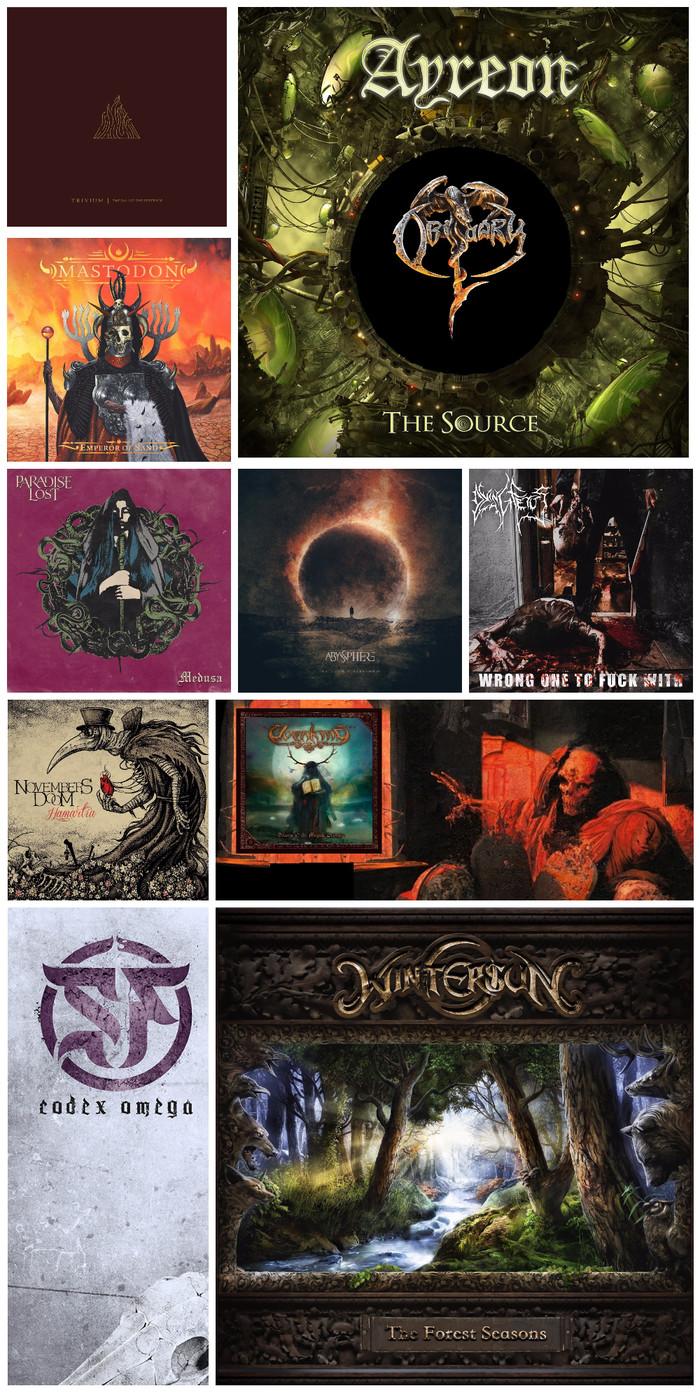 Топ-10 метал-альбомов 2017 (Итоги) Metal, Топ 10, 2017, Длиннопост
