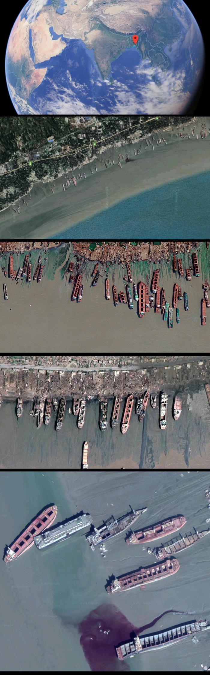 Апокалиптические места планеты: Город кораблеразборщиков. Репортаж, Бангладеш, Индия, Корабль, Читтагонг, Апокалипсис, Пляж, Длиннопост