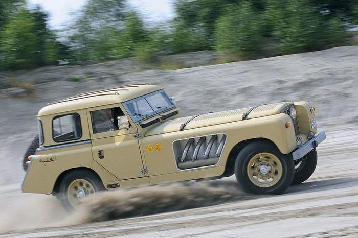Автомобили #37. Bell Aurens Longnose Ретроавтомобиль, Land Rover, Авто, Машина, Длиннопост