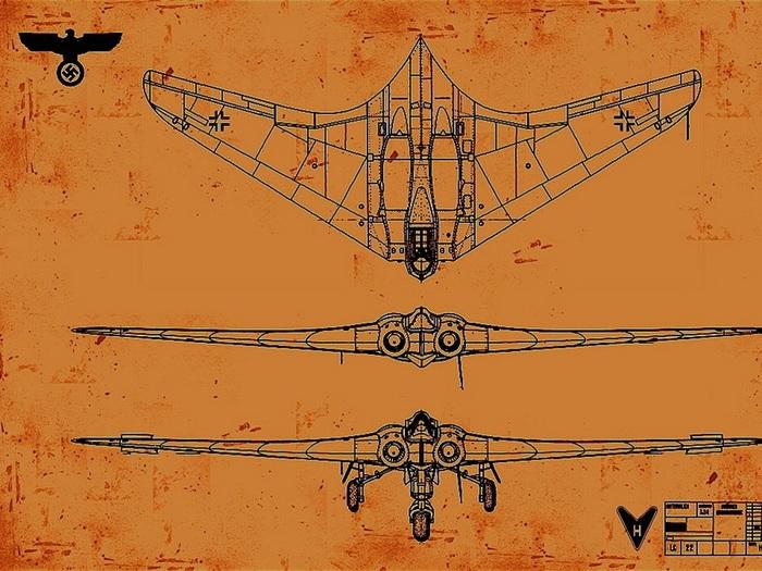 """""""Летающее крыло"""" Третьего Рейха (очень длиннопост) Самолетостроение, Просто очень длиннопост, Продолжение, Оружейная лига, Мировая история, Видео, Длиннопост"""