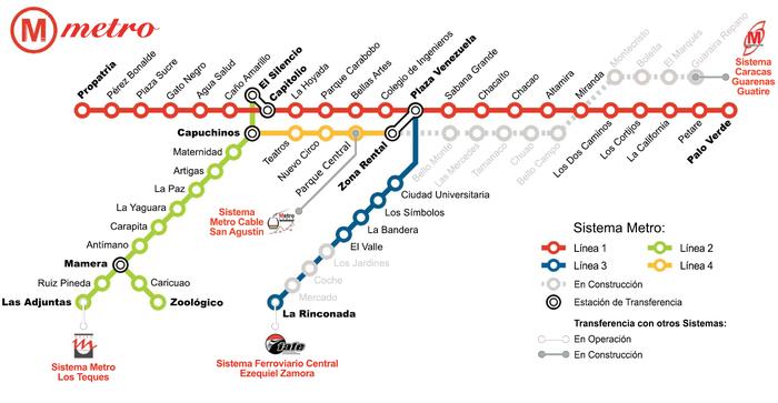 Немножко о метрополитене самого опасного города на Земле Метро, Карта метрополитена, Каракас, Венесуэла, Опасный город, Длиннопост