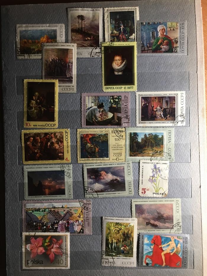 Коллекция почтовых марок. СССР, Филателия, Коллекция, Почтовые марки, Фотография, Длиннопост