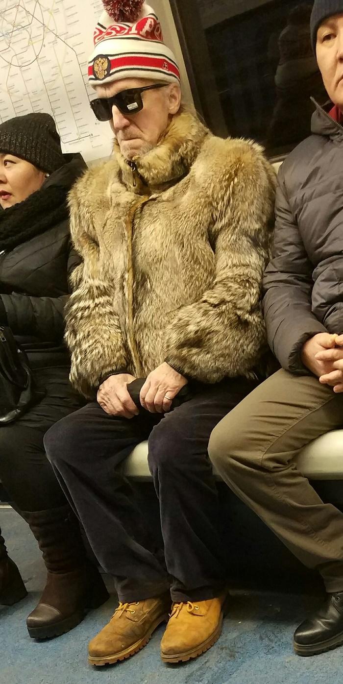 Модный дед Мода, Фэшн из май профешн, Метро, Московское метро