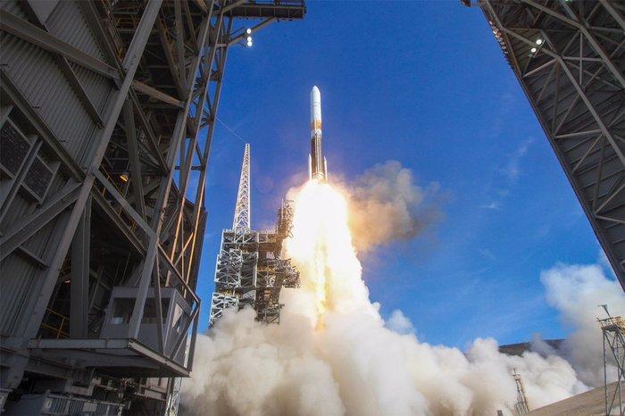 Состоялся успешный пуск Delta IV со спутником радиолокационной разведки NROL-47 Запуск, Delta IV Medium, Видео, Длиннопост