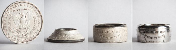 Кольца из монет или путь ювелира-энтузиаста Кольцо, Монета, Кольцо из монеты, Сделай сам, Своими руками, Длиннопост