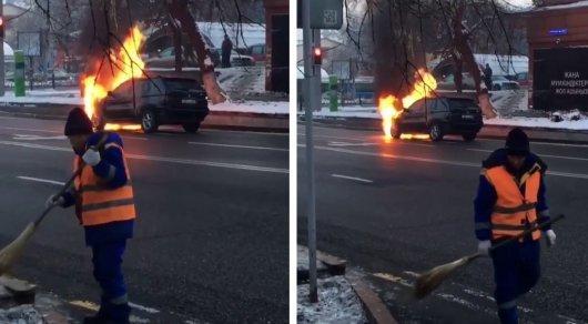 Невозмутимый дворник Дворник, Пожар, BMW x5