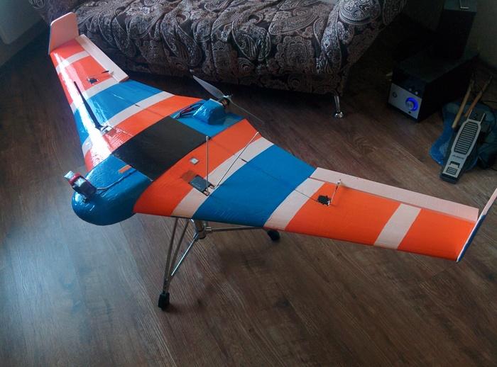 Зимний прогулочный полёт на своей самоделке Авиамоделизм, Летающее крыло, Fpv, Fpv drone, Полёты на низкой высоте, Видео