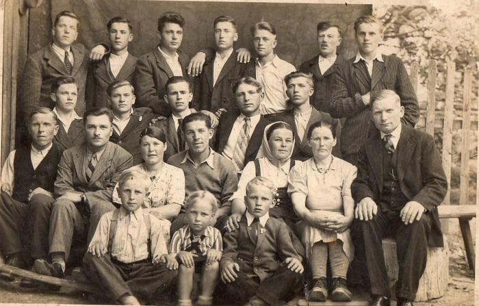 Фотографии 1-й послевоенной пятилетки из семейного архива ( 1945 - 1950 г.) Фотография, ГСВГ, Остарбайтеры, Прошлое, Длиннопост