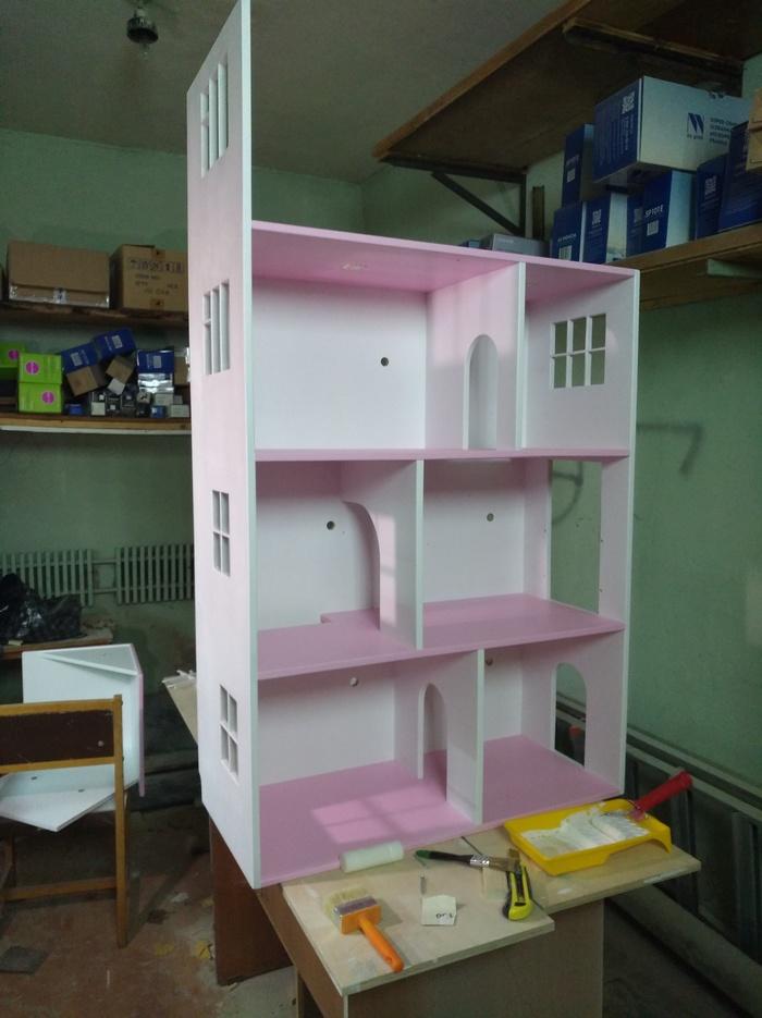 Кукольный домик сделай сам, кукольный домик, столярка, игрушки, фанера, мебель, длиннопост