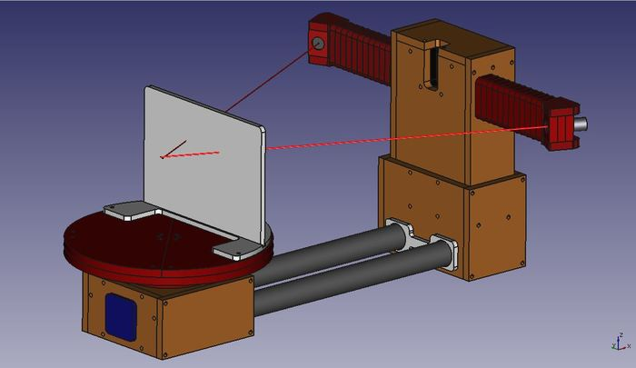 Самодельный 3D сканер на Arduino UNO 3D сканер, FreeCAD, ЧПУ, CNC, Arduino, Видео, Длиннопост