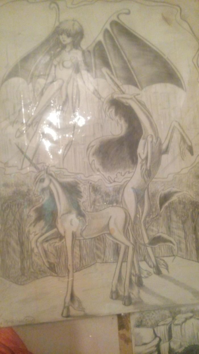 Рисунки из детства Рисунок, Аниме, Детство, Длиннопост