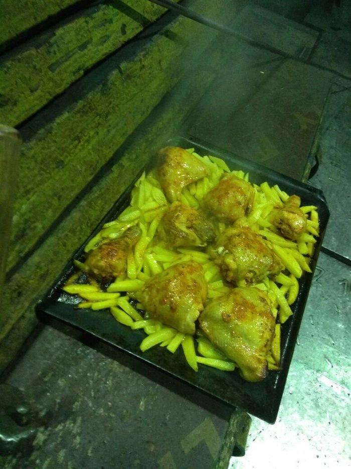 Обед на горячем прокате?Пфф,легко! Металл, Прокат, Курица, Картофель, Обед, Еда, Суровый, Ижевск, Длиннопост