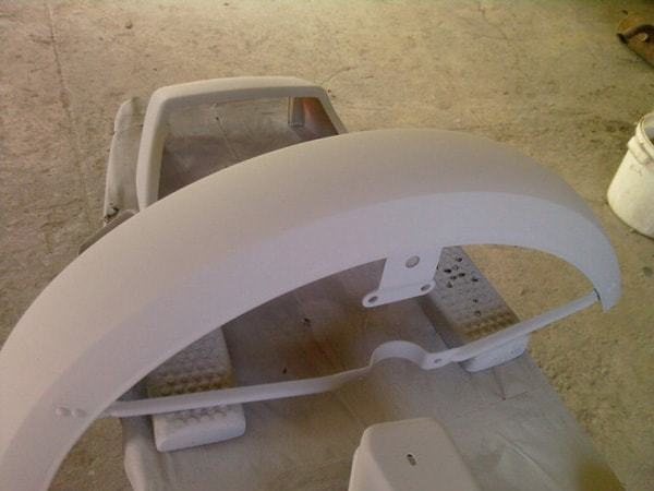 Восстановление мотоцикла с коляской Ява 638