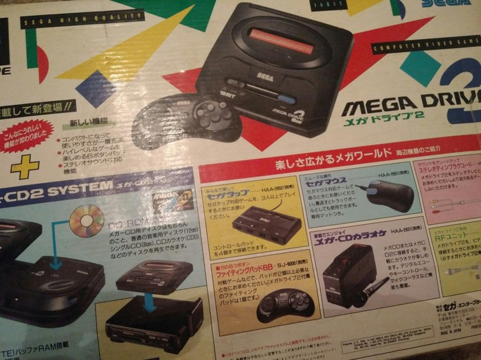 Sega Mega Drive 2 Sega mega drive, Игровая приставка, Раритет, Видеоигра, Длиннопост
