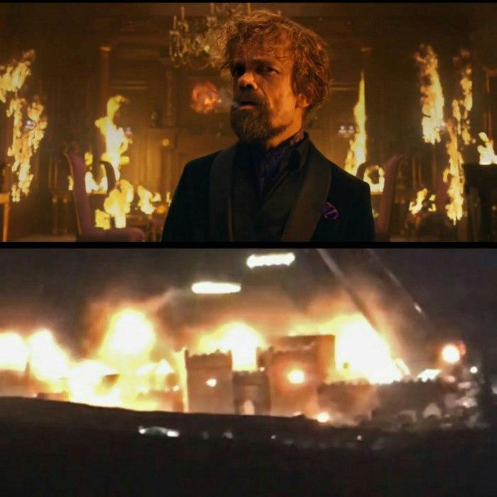 Стало известно, кто мог быть причастен к поджогу Винтерфелла. Неужели Тирион всё же скрытый Таргариен?