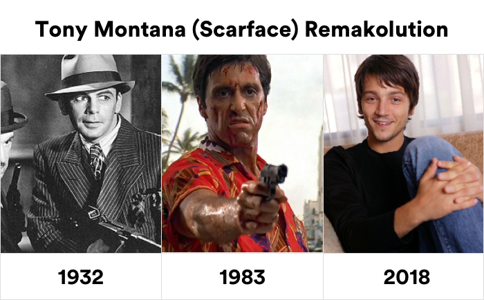 Знакомьтесь. Это Диего Луна - исполнитель роли Тони Монтана в Лице со шрамом, который выходит в этом году Тони монтана, Лицо со шрамом, Аль Пачино