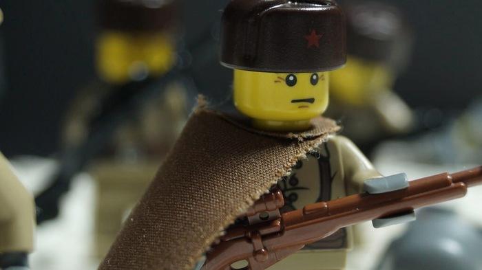 Lego «советский солдат»