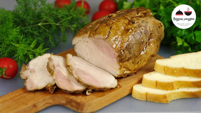 """Мясо """"Шиворот-навыворот"""". Никто не верит, что это приготовлено в домашних условиях. мясо, вкусная минутка, кулинария, Буженина, рецепт, мясо наоборот, видео"""