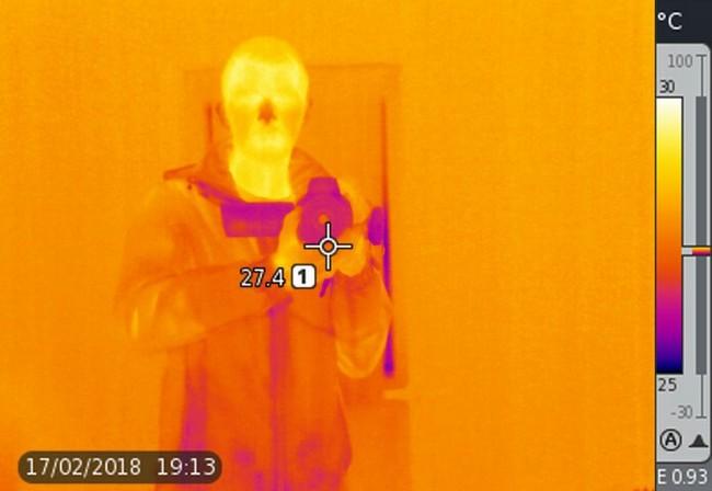 Член в тепловизоре