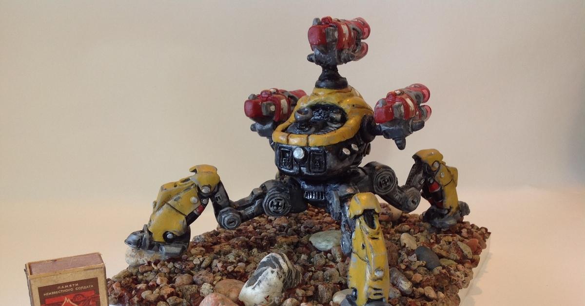 картинки про роботов из пластилина можно