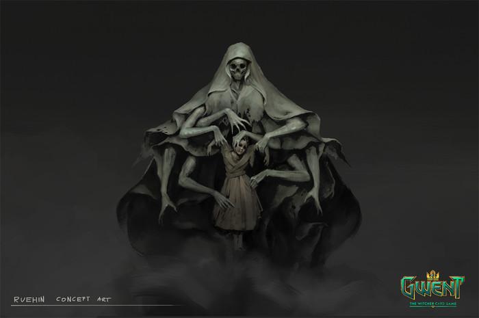 Рюхин: концепт арт Концепт-Арт, Гвинт, Ведьмак, Кки