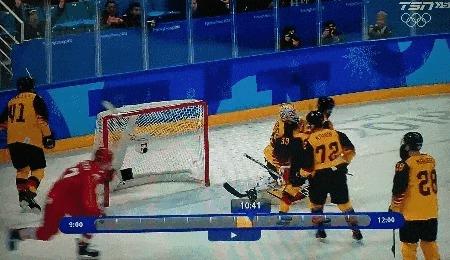 Найн! Наййййййн!!! Хоккей, Реакция, Олимпиада, Германия, Гифка, Спорт, Болельщики