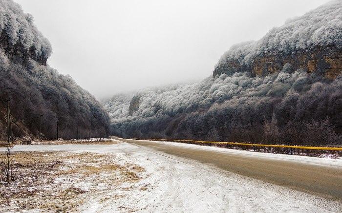 Чегемское ущелье Кабардино-Балкария, Ущелье, Природа, Съездить, Пейзаж, Фотография, Россия, Длиннопост