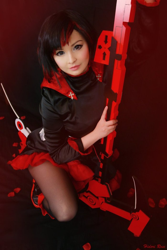 Ruby - by -Hidori Rose Косплей, Аниме, RWBY, Ruby, Девушки, Hidori Rose, Длиннопост