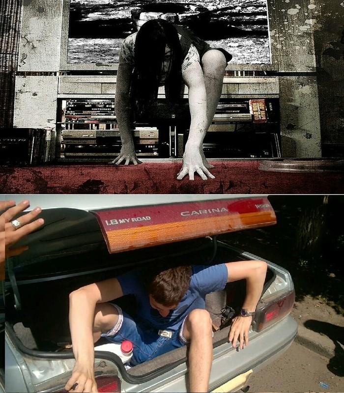 Годный косплей фильма звонок Косплей, Звонок, Ужасы, Первый пост