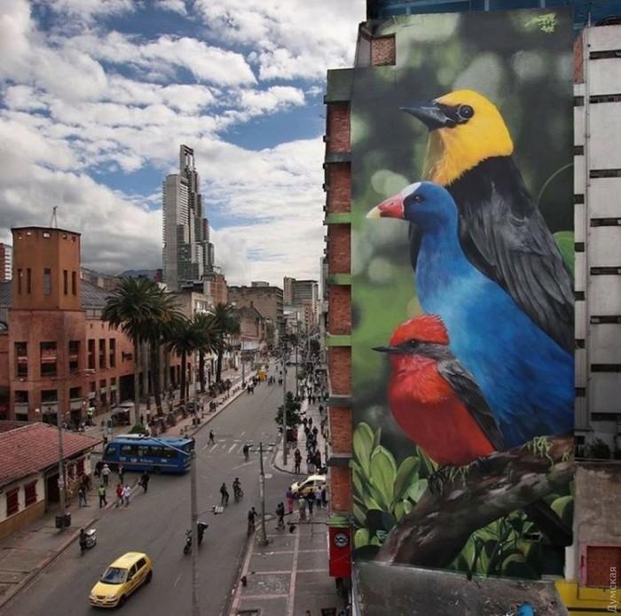 Одесский мурал попал всписок лучших объектов мирового стрит-арта заянварь стрит-арт, Одесса искуство, Роспись стены, топ, длиннопост