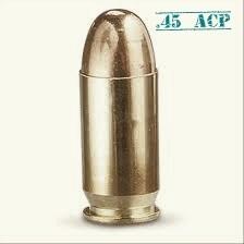 Патрон .45 ACP Оружие, Ammo, Боеприпасы, Патроны, Калибр, Длиннопост