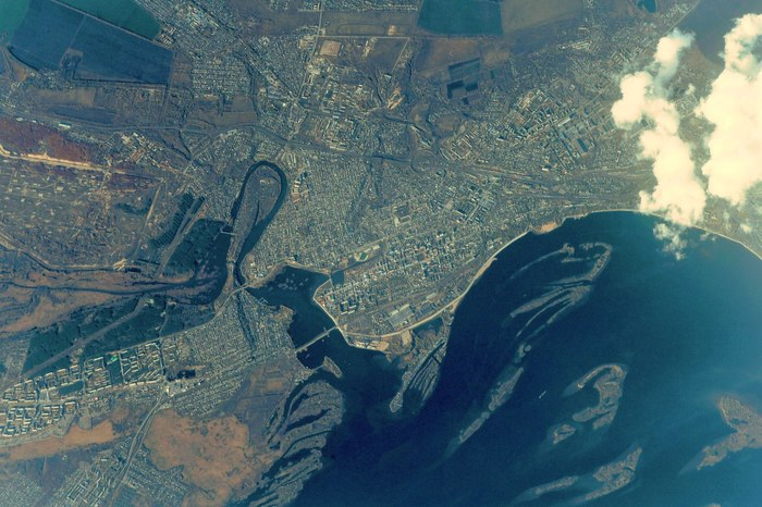 Снимки космонавта Сергея Рязанского