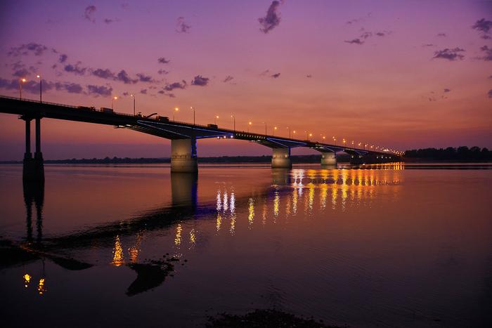 Камский мост. Пермь.