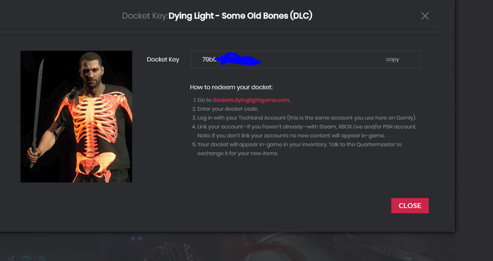 Dying Light - Some Old Bones (DLC) Steam халява, Ключи Steam