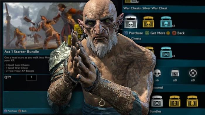 Разработчики Middle-earth: Shadow of War  решили отказаться от лутбоксов Monolith Productions, Warner brothers, Shadow of War, Средиземье, Лутбоксы, Микротранзакции, Nemesis, Длиннопост