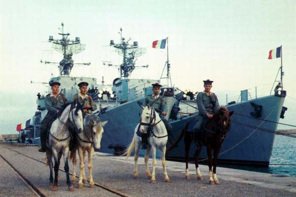 Конные моряки во время войны в Алжире Алжир, Кавалерия, Франция, История, Моряки, Длиннопост