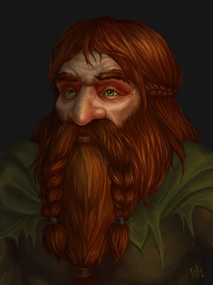 Торондар Гримберген Фан-Арт, World of Warcraft, Дворфы, Персонажи, Пятничный тег моё, Арт