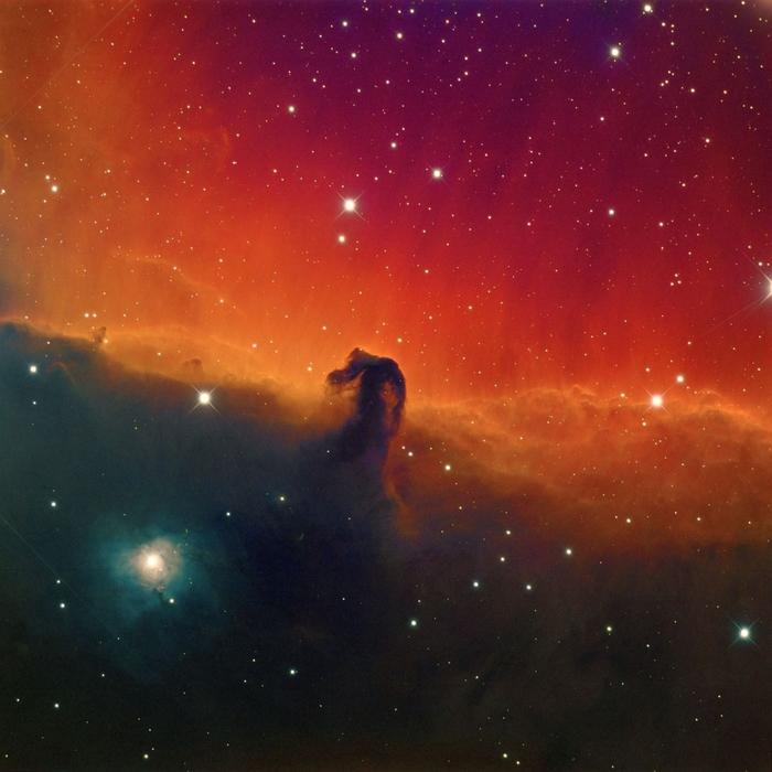 Туманность Конская голова Космос, Туманность ориона, Туманность конская голова, Длиннопост