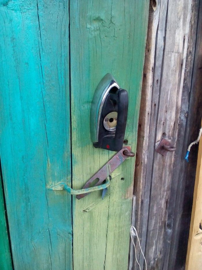 Распространённая технология Дверь, Утюг