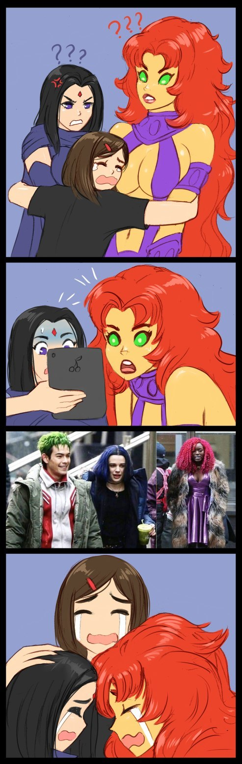 Жизнь - боль Flick-The-Thief, Teen Titans, Комиксы, Длиннопост