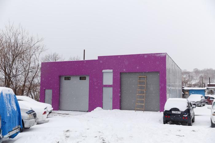Строительство гаража (3) Гараж, Камчатка, Длиннопост