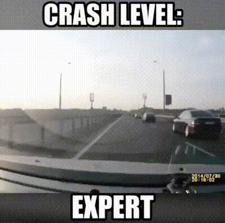 Авария. Уровень - эксперт.