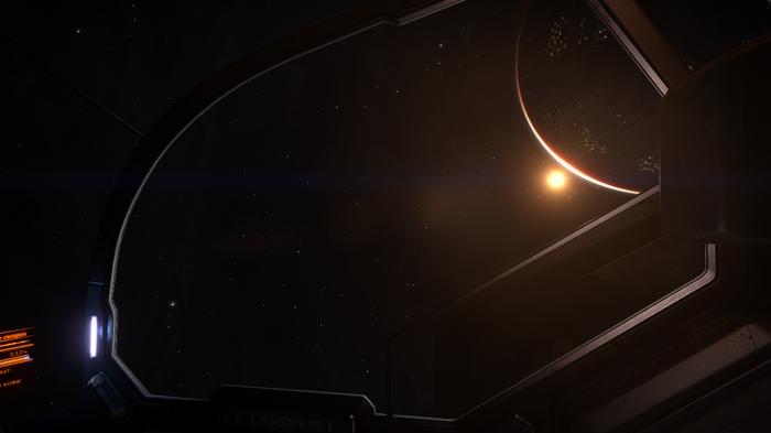 Просто красивый скрин Космос, Графон, Elite Dangerous