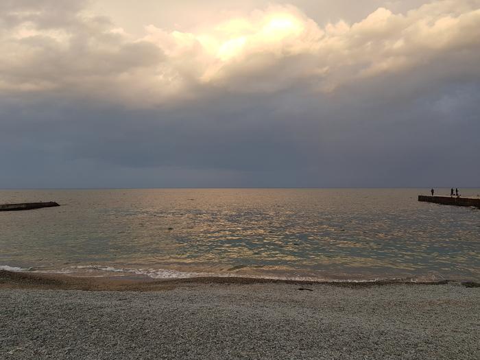 Золото Крыма. Крым, Партенит, Море, Длиннопост