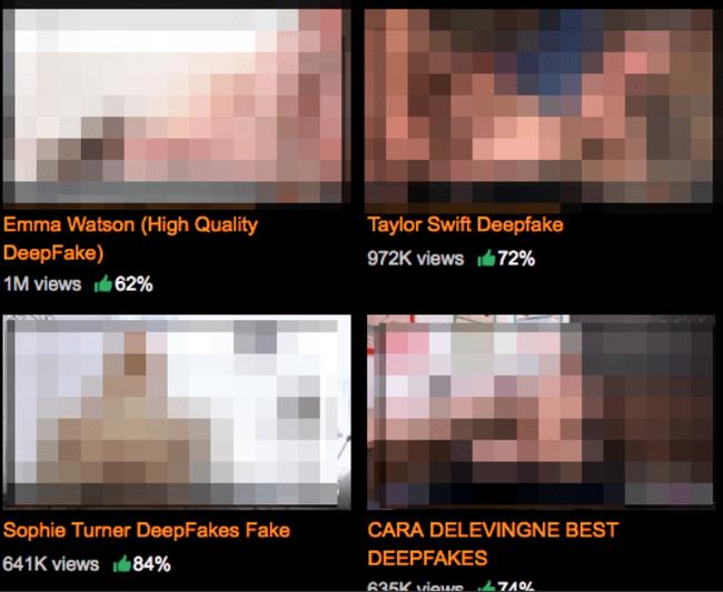 PornHub не хочет удалять порно с Эммой Уотсон, Галь Гадот и Скарлетт Йоханссон.