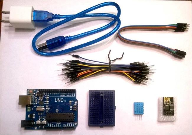 Беспроводной датчик температуры и влажности на ESP8266 ИнженериумDIY, Arduino, Dht11, Esp8266, Ingeneriumnet, Instructables, Длиннопост